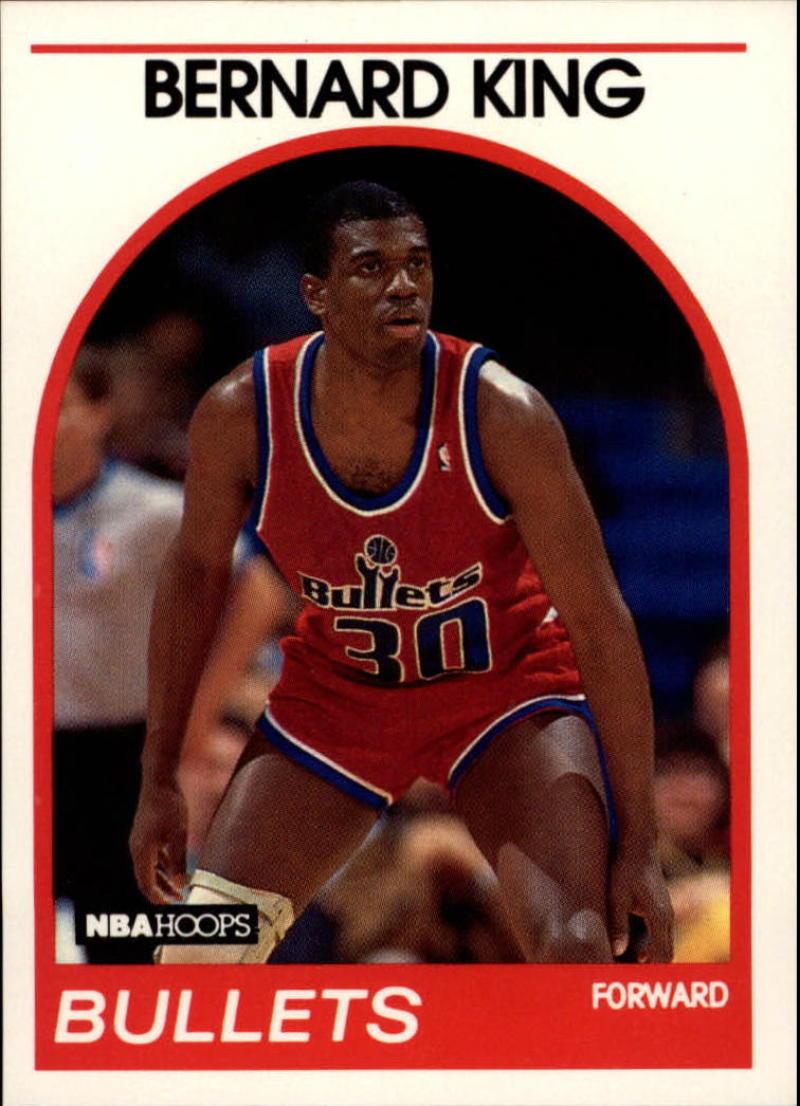 1989-90 Hoops #240 Bernard King