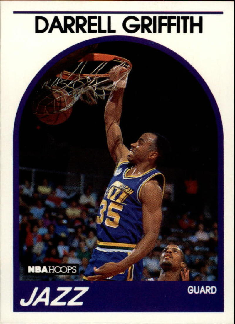 1989-90 Hoops #241 Darrell Griffith