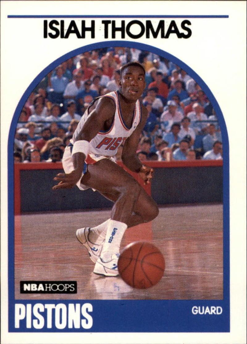 1989-90 Hoops #250 Isiah Thomas