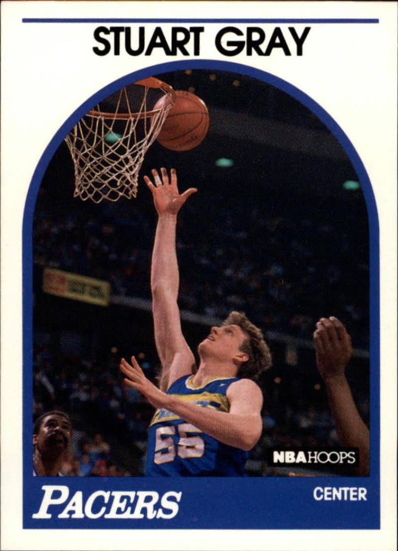 1989-90 Hoops #253 Stuart Gray SP
