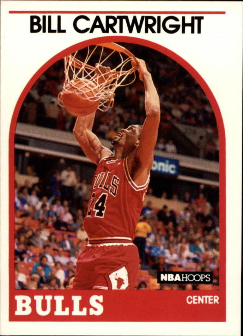 1989-90 Hoops #255 Bill Cartwright