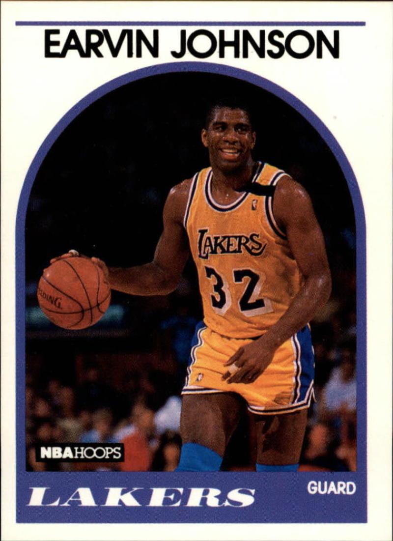 1989-90 Hoops #270 Magic Johnson