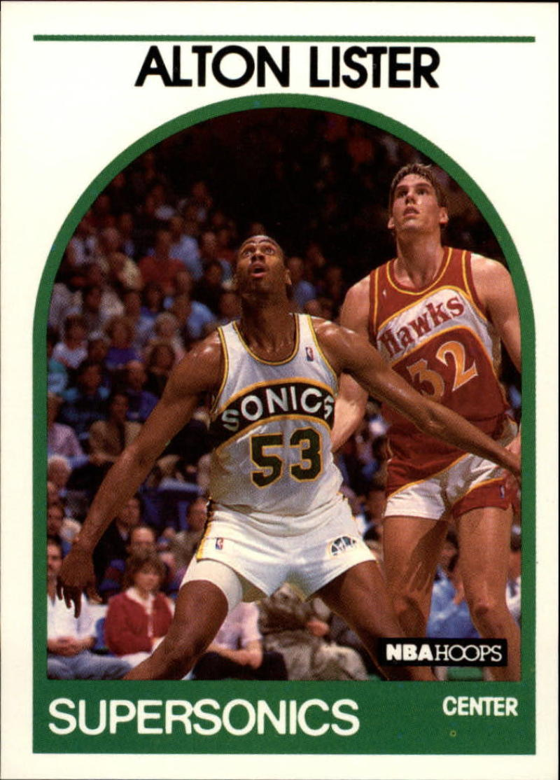 1989-90 Hoops #293 Alton Lister SP