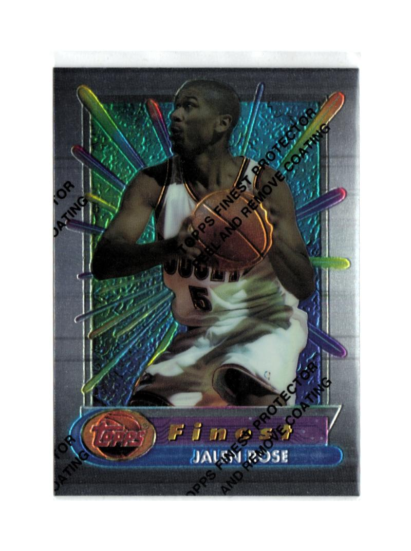 1994-95 Topps Finest #249 Jalen Rose RC