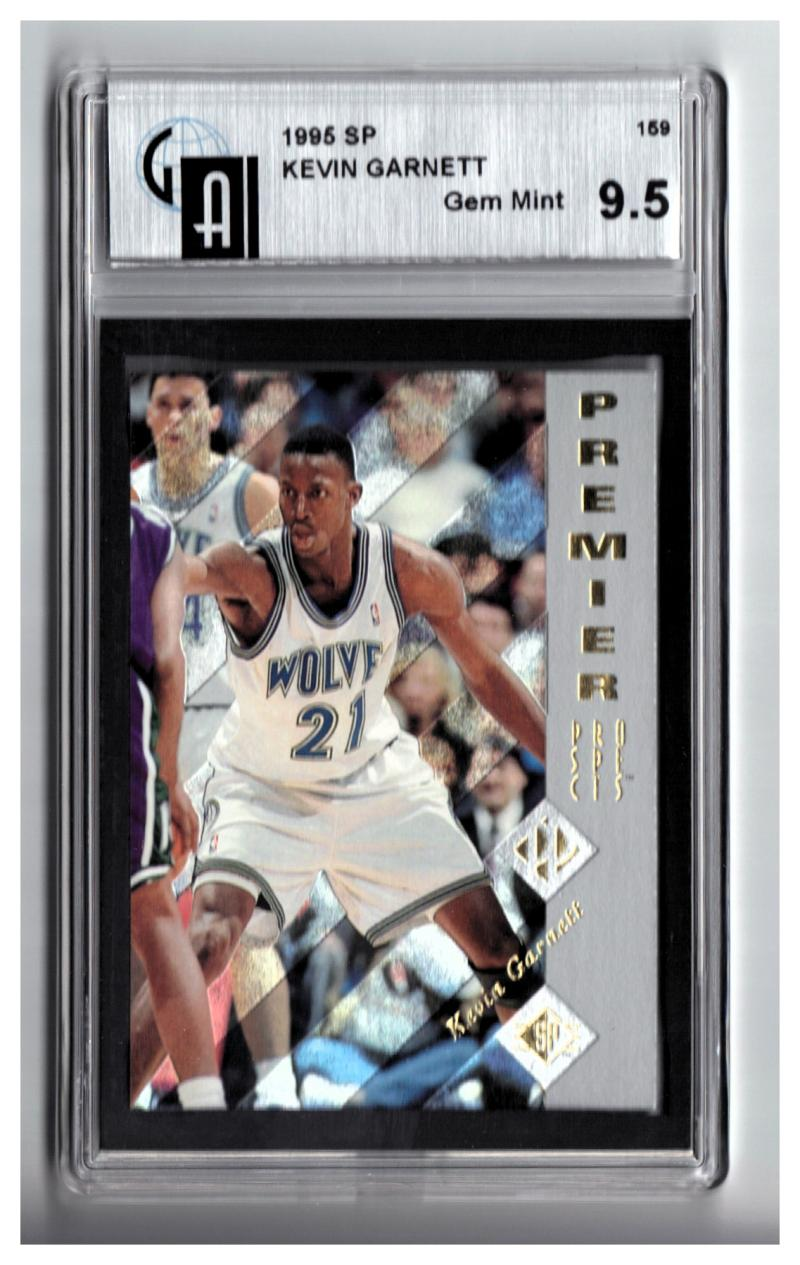 1995-96 SP #159 KEVIN GARNETT RC GAI 9.5 (GLOBAL) Gem Mint