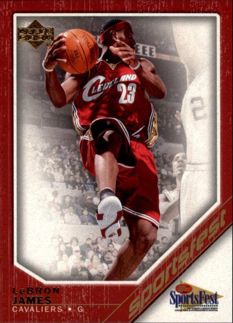 2006 Upper Deck SportsFest #NBA-2 Lebron James NM-MT 50/50!