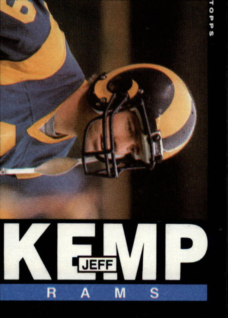 1985 Topps #83 Jeff Kemp RC-Rookie