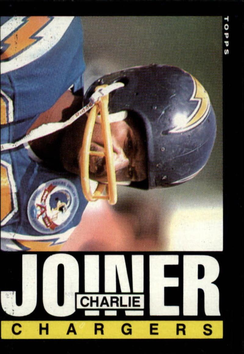 1985 Topps #377 Charlie Joiner