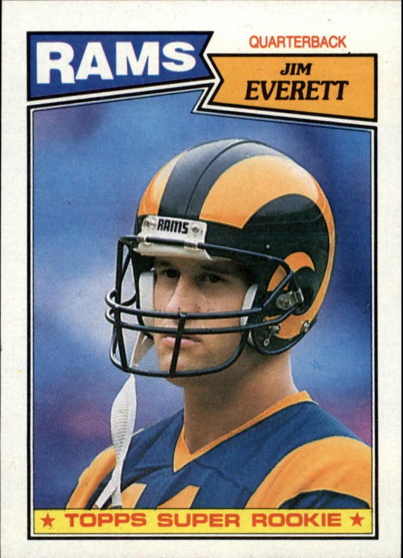 1987 Topps #145 Jim Everett RC-Rookie