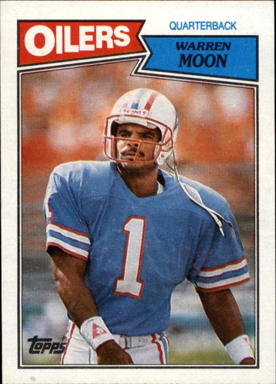 1987 Topps #307 Warren Moon EX