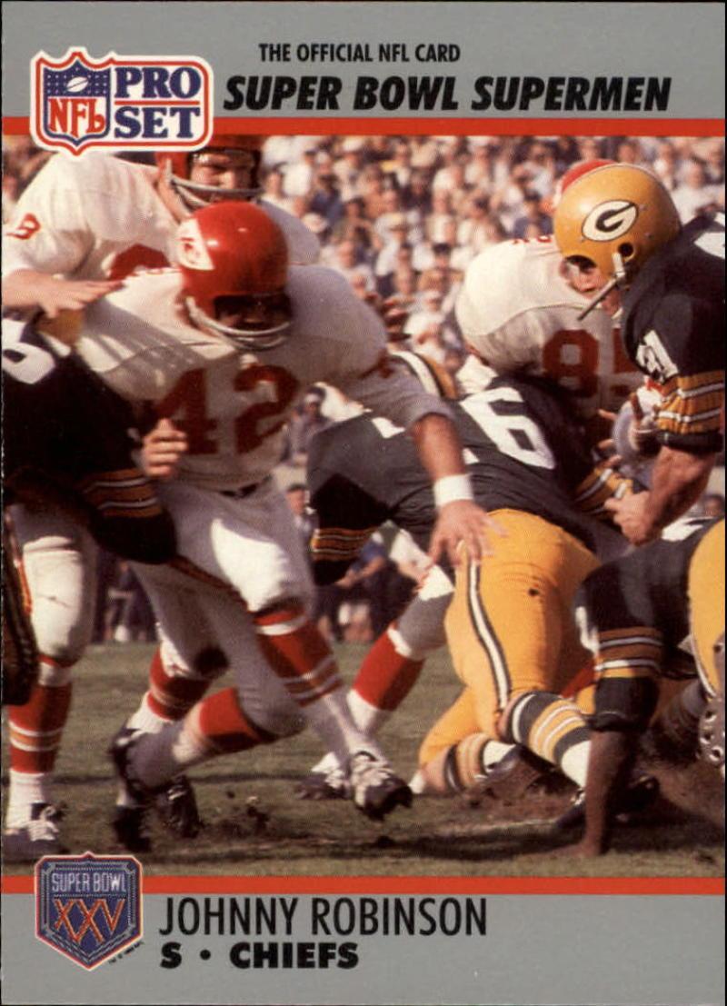 1990 Pro Set Super Bowl 160 #111 Johnny Robinson