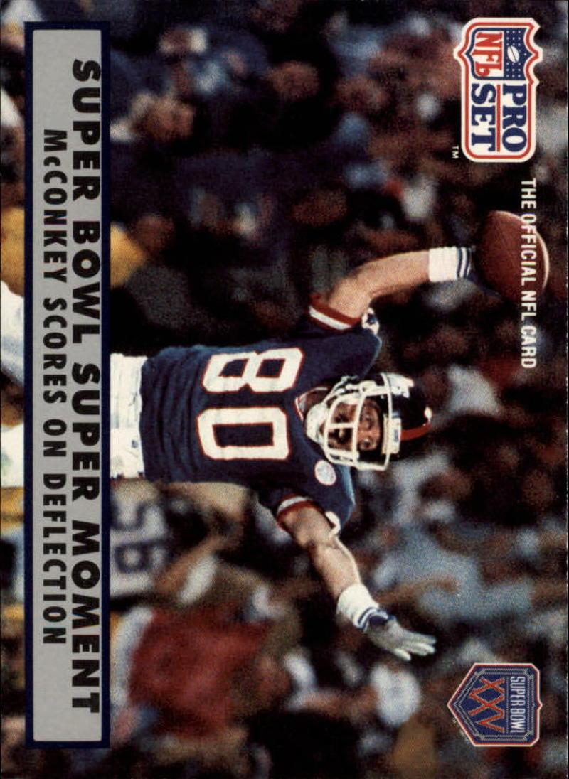 1990 Pro Set  Super Bowl 160 #150 Phil McConkey  EX