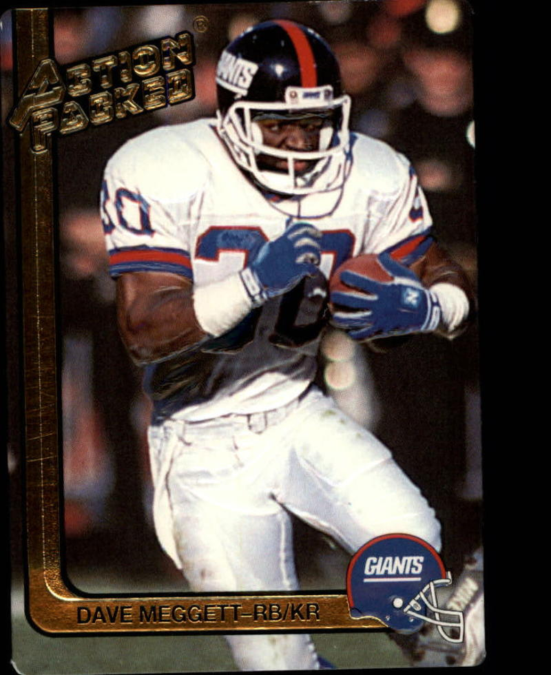 1991 Action Packed #186 Dave Meggett