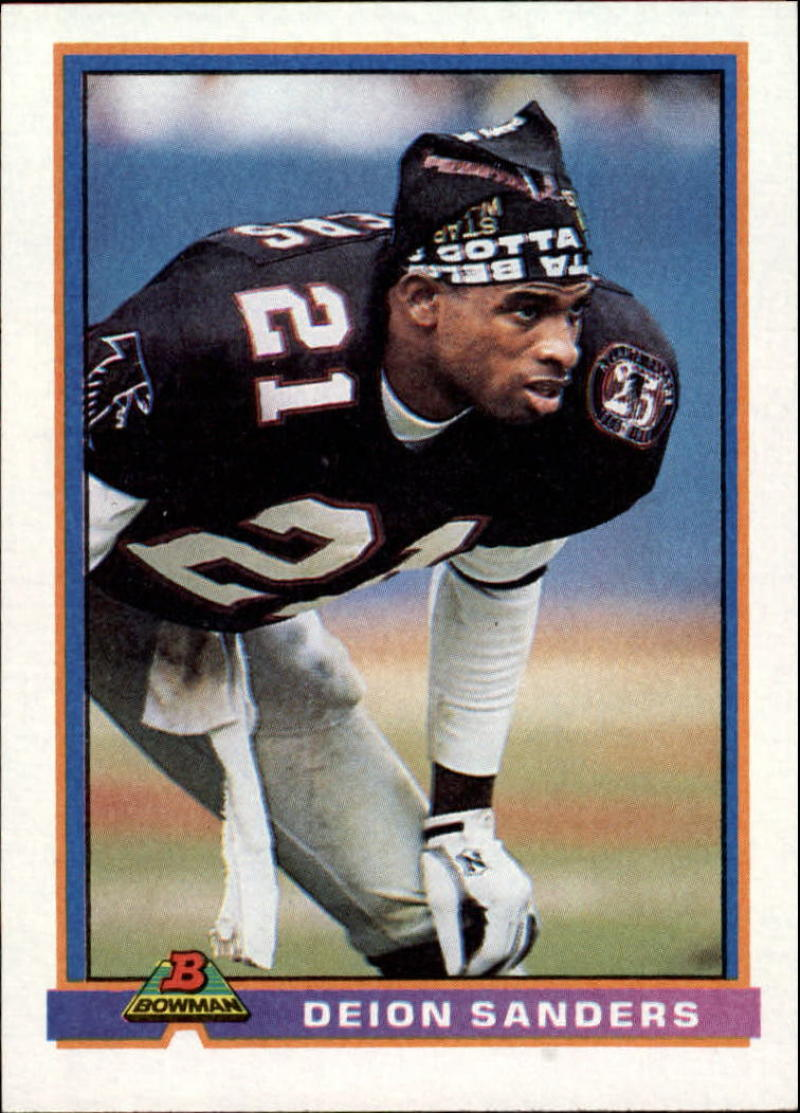 1991 Bowman #15 Deion Sanders