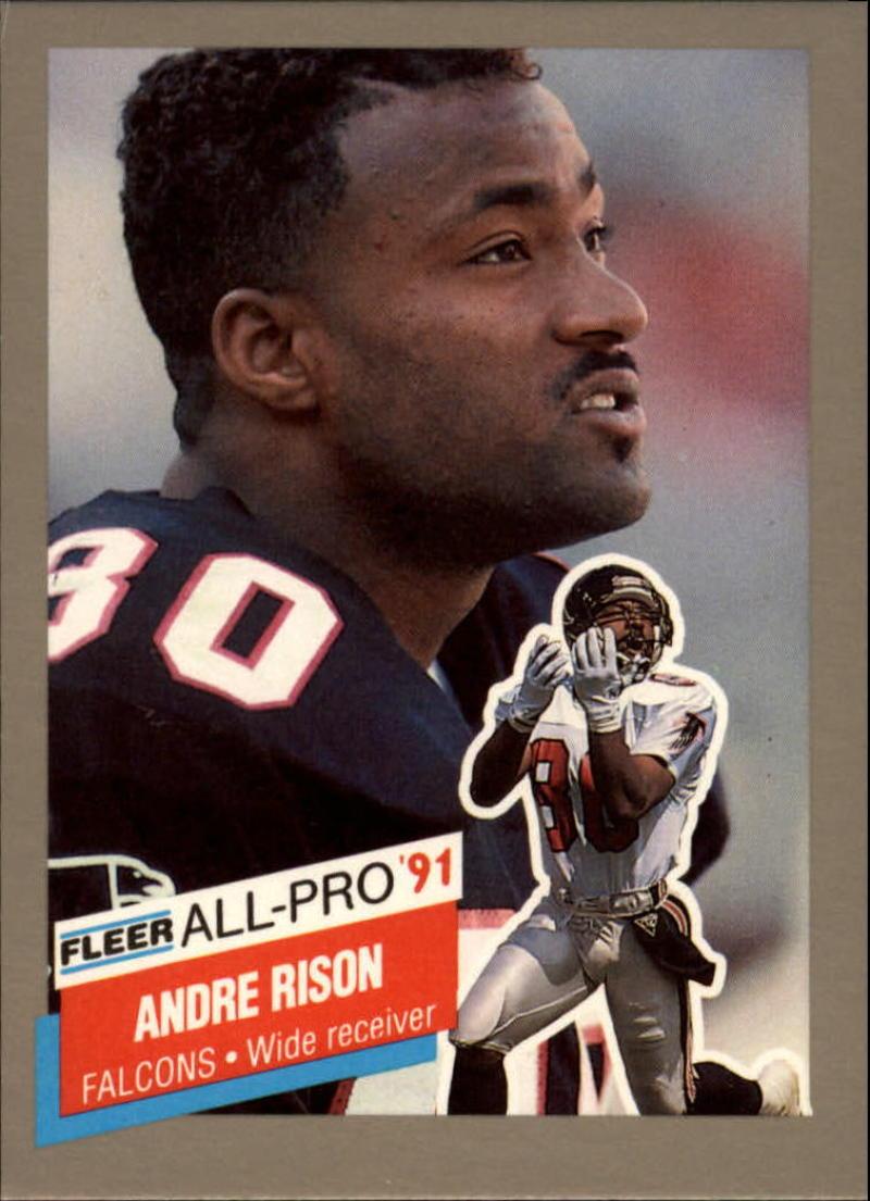 1991 Fleer All-Pros #8 Andre Rison