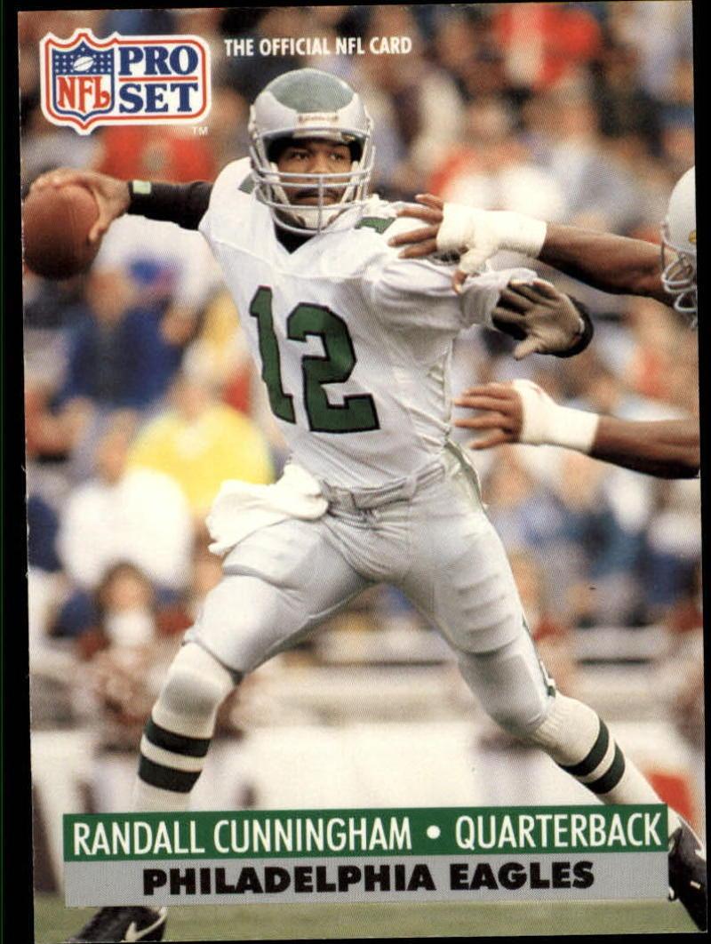 1991 Pro Set #256 Randall Cunningham EX
