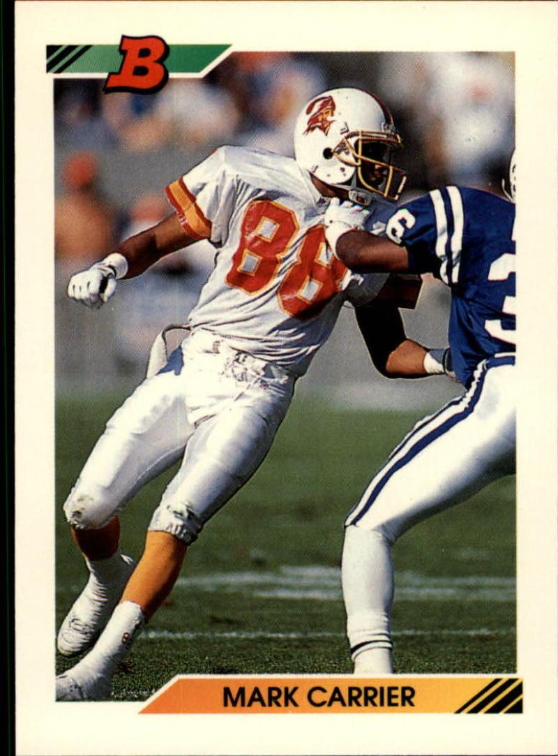 1992 Bowman #16 Mark Carrier