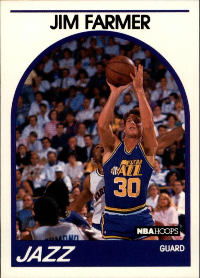 1989-90 Hoops #227 Jim Farmer SP