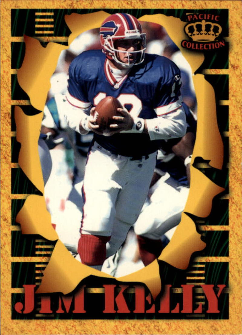 1996 Pacific Invincible Smash-Mouth #13 Jim Kelly