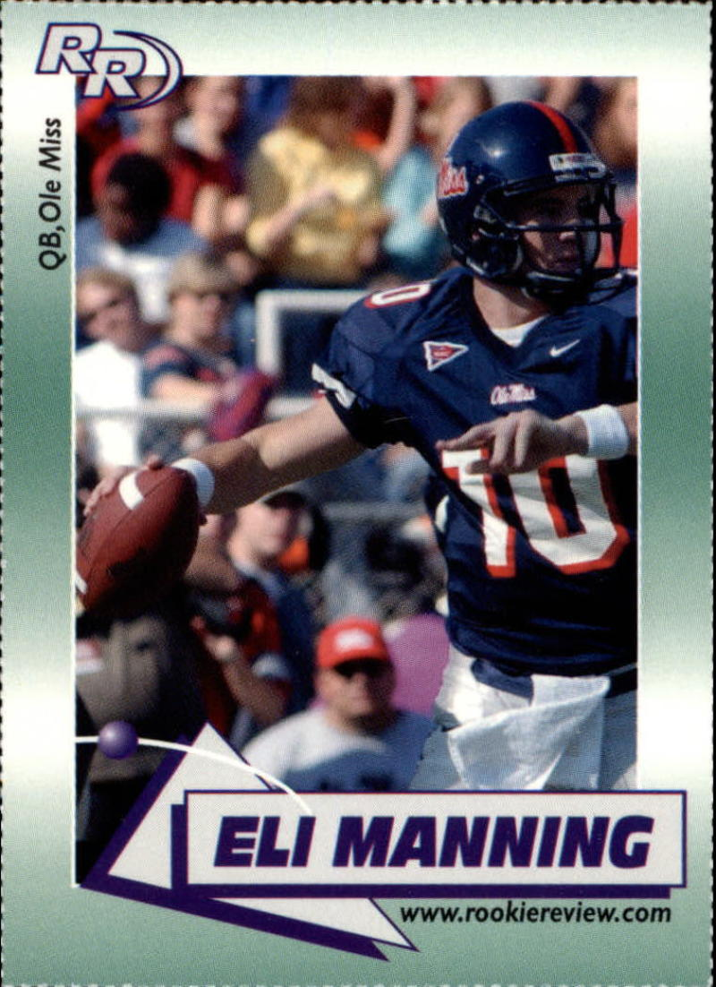2002 Rookie Review #1 Eli Manning Ole Miss