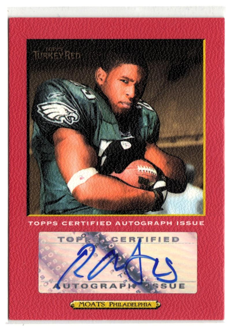 2005 Topps Turkey Red Autographs Red #TRARM Ryan Moats  #'d/199