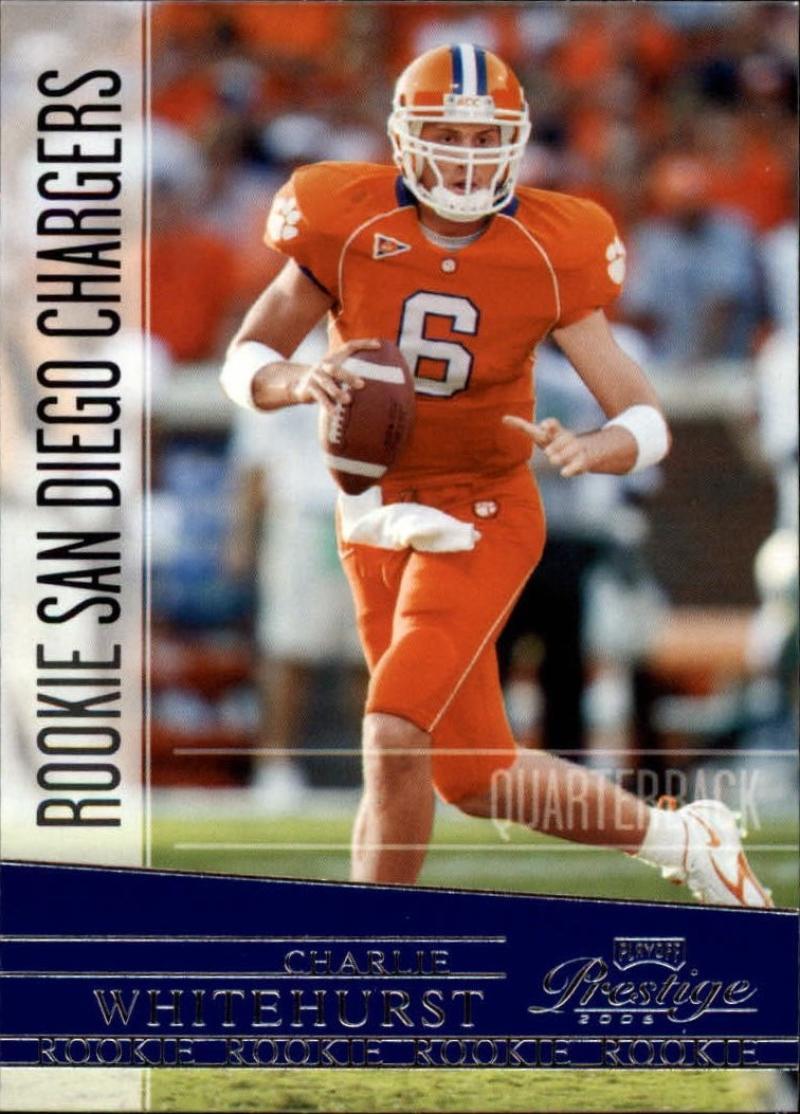 2006 Playoff Prestige #171 Charlie Whitehurst  RC-Rookie