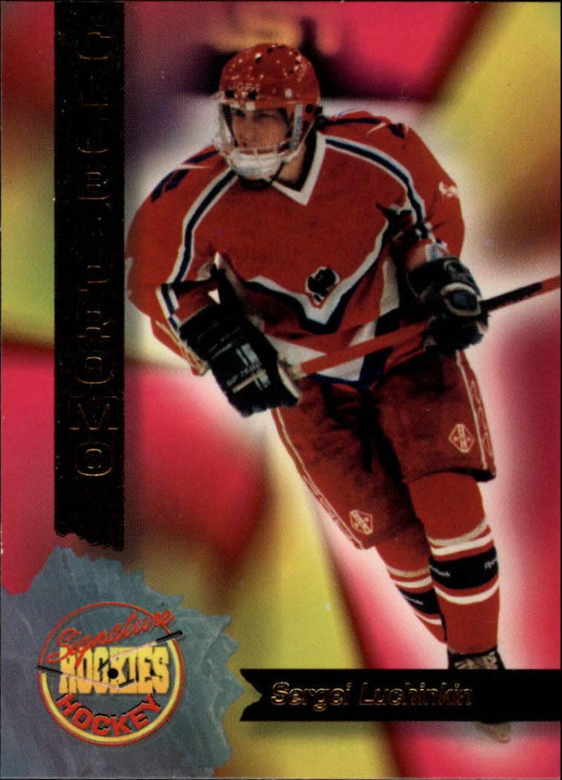 1995-96 Signature Rookies Club Promos #1 Sergei Luchinkin NM Near Mint
