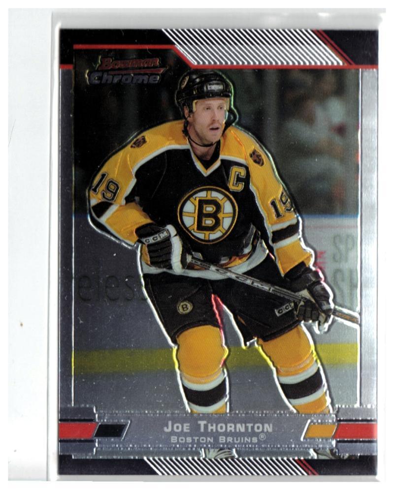 2003-04 Bowman Chrome #10 Joe Thornton  Bruins