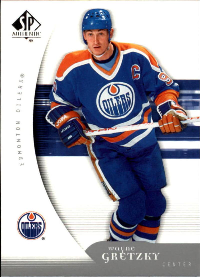 2005-06 SP Authentic #42 Wayne Gretzky  Oilers