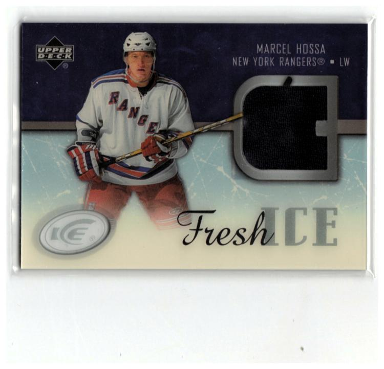 2005-06 Upper Deck Ice Fresh Ice Glass #FIMH Marcel Hossa  Canadiens