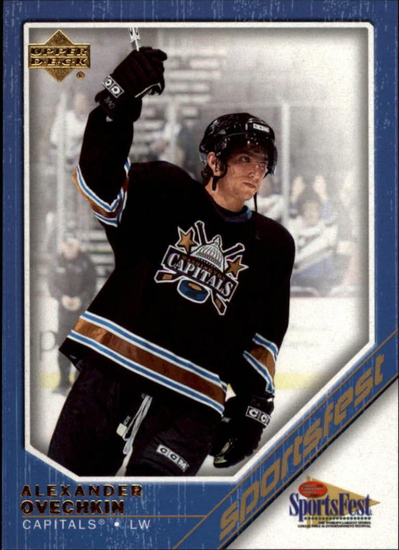 2006 Upper Deck Sportsfest #NHL-3 Alexander Ovechkin