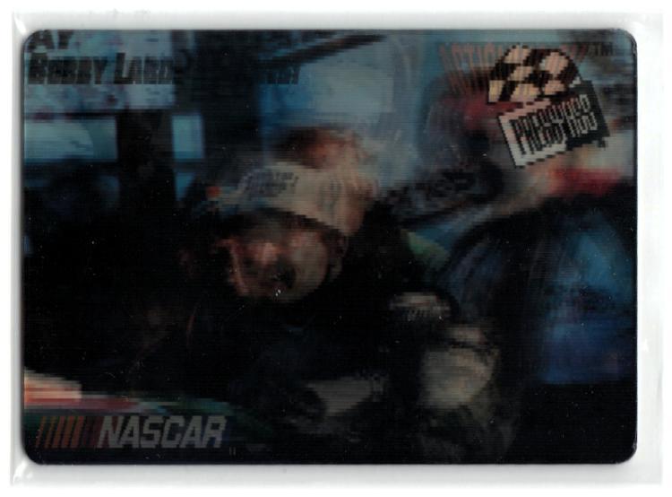 1997 ActionVision #P1 Bobby Labonte Promo