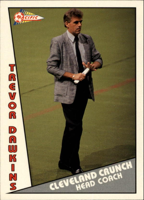 1992 Pacific MSL #151 Trevor Dawkins