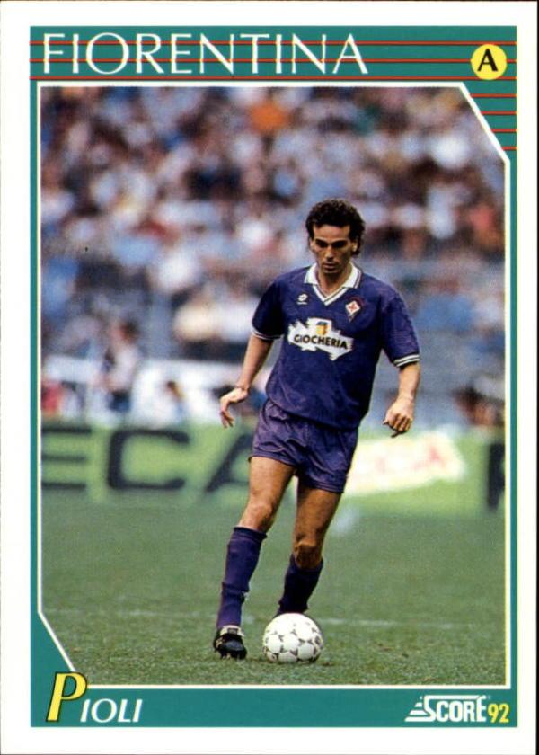1991-92 Score Italian #81 Stefano Pioli