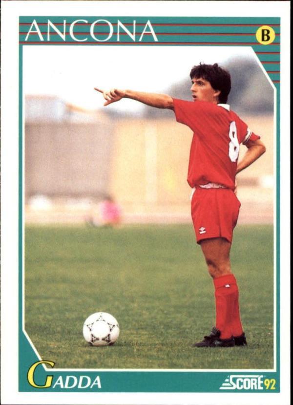 1991-92 Score Italian  #277 Massimo Gadda