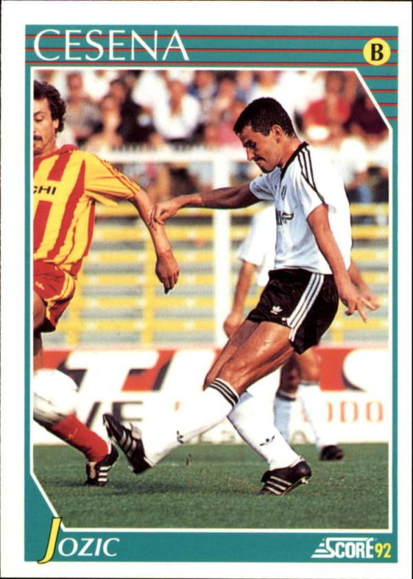 1991-92 Score Italian #292 Davor Jozic