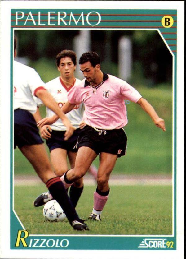 1991-92 Score Italian  #318 Antonio Rizzolo