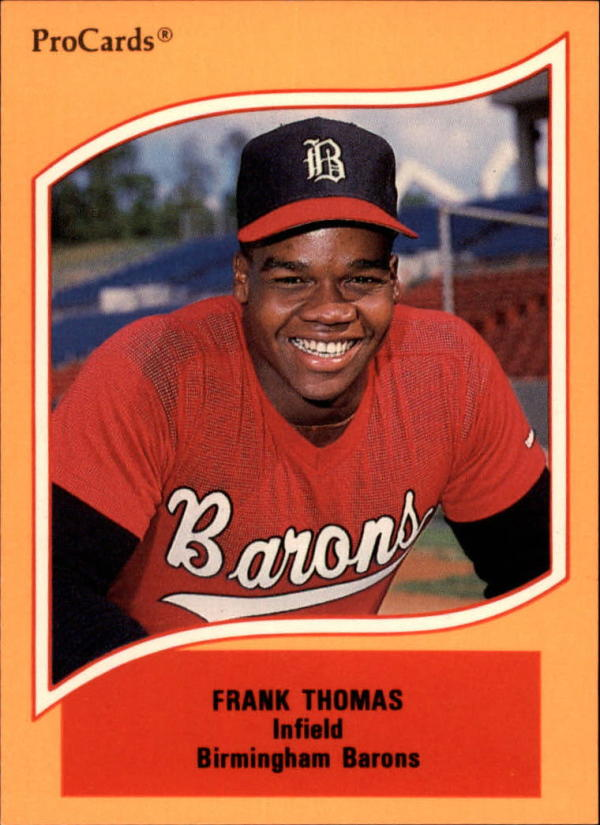 1990 ProCards A and AA #46 Frank Thomas