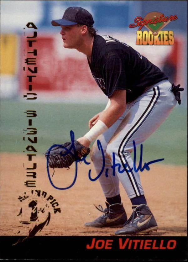 1994 Signature Rookies Draft Picks #50 Joe Vitiello EX Excellent Auto