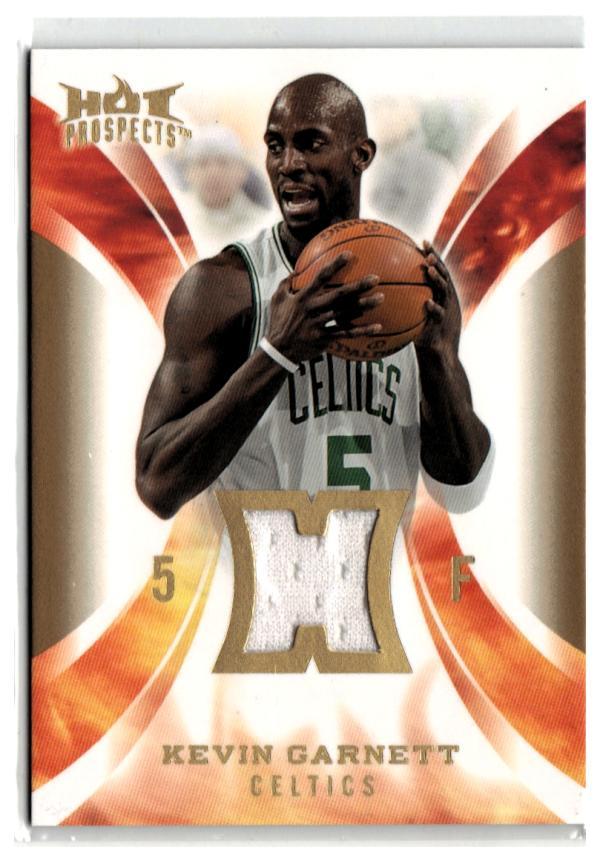 2008-09 Hot Prospects Hot Materials #HM-KG Kevin Garnett  Basketball