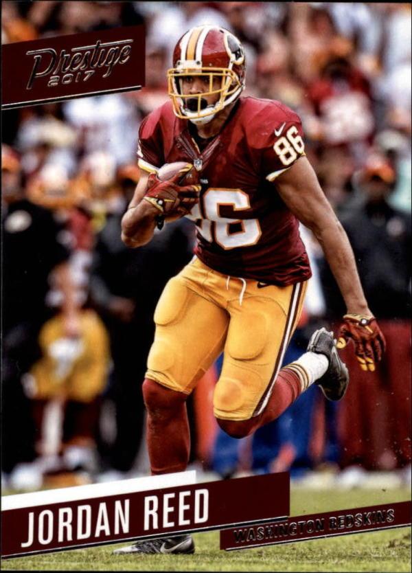 2017 Prestige #28 Jordan Reed  Redskins Football