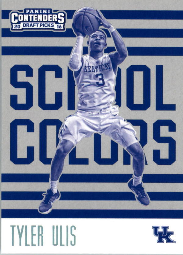 2016-17 Contenders Draft Picks School Colors #13 Tyler Ulis  Basketball