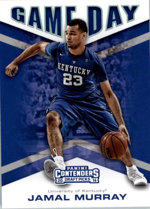 2016-17 Contenders Draft Picks Game Day #3 Jamal Murray  Basketball