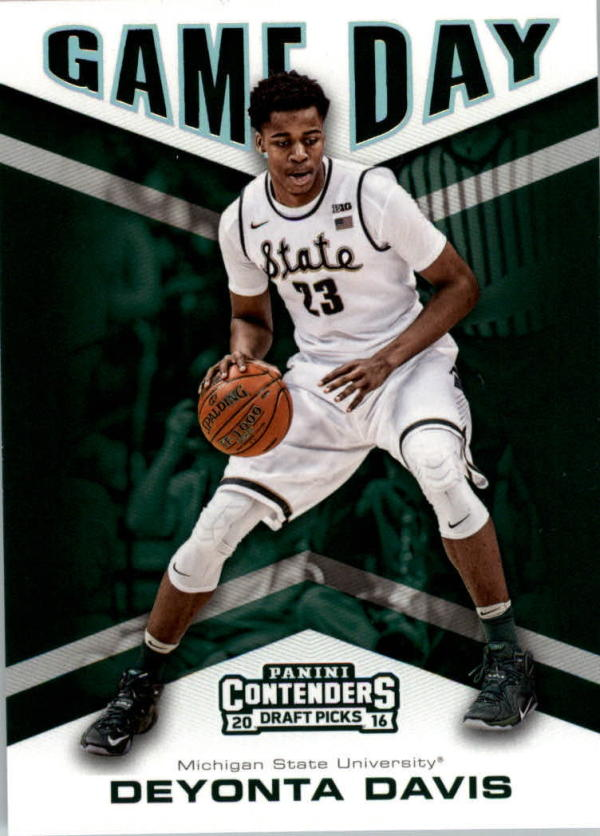 2016-17 Contenders Draft Picks Game Day #11 Deyonta Davis  Basketball