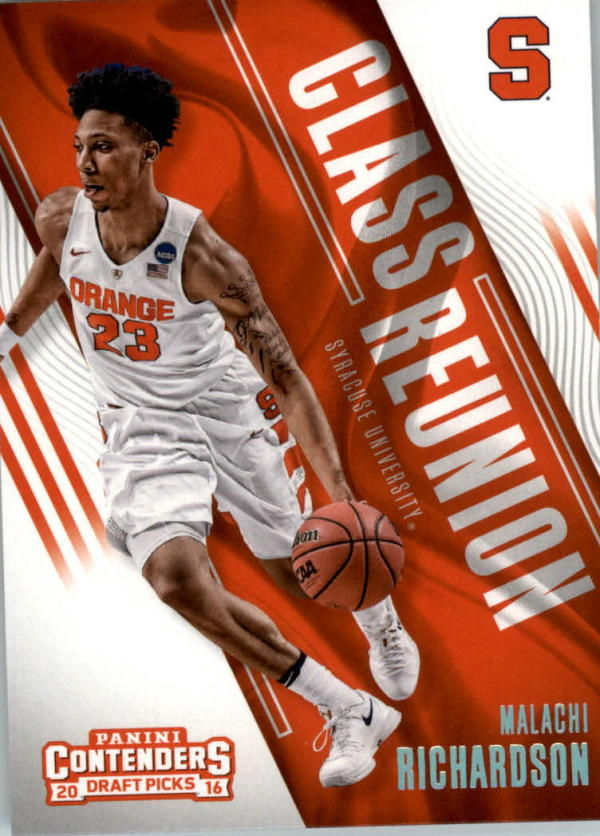 2016-17 Contenders Draft Picks Class Reunion #20 Malachi Richardson  Basketball