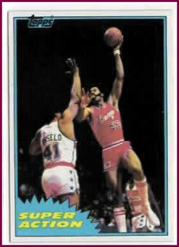 1981-82 Topps #MW107 Artis Gilmore NM-MT