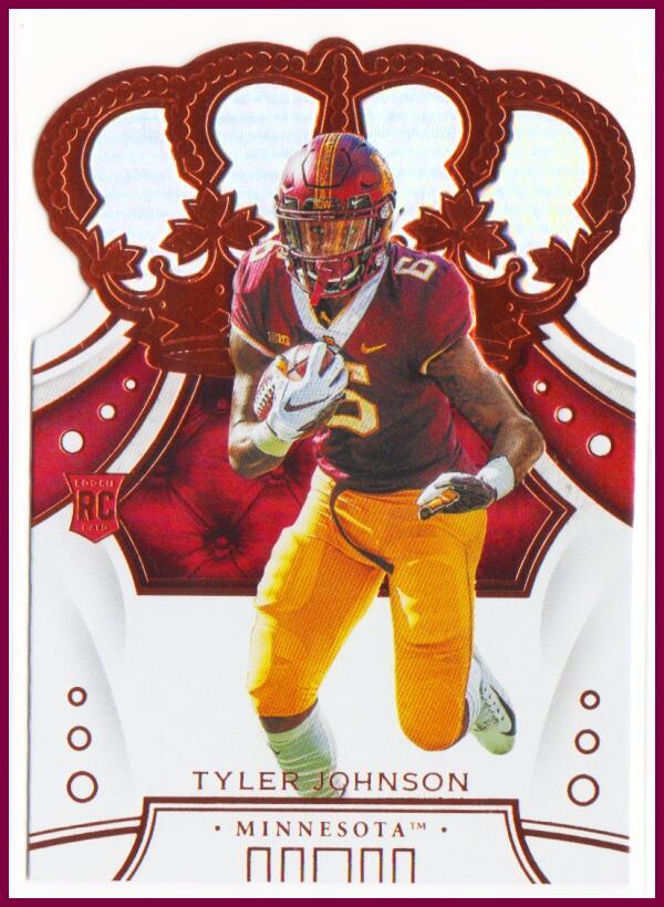 2020 Panini Chronicles Draft Picks Crown Royale Draft Picks #39 Tyler Johnson NM-MT
