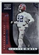 2000 Playoff Momentum #197 Kwame Cavil RC #'d 481/750