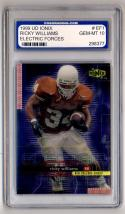 1999 UD Ionix Electric Forces #EF1 Ricky Williams Graded PGS 10 GEM-MT