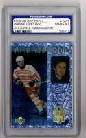 1999/00 Wayne Gretzky Living Legend Goodwill Ambassador  #GW2 Wayne Gretzky   PGS 9.5